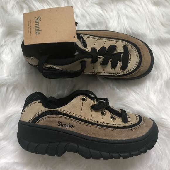 Simple Other - Simple nwt outdoor adventure sneakers M 5/ W 6.5